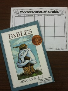 fable_book_and_graphic_organizer
