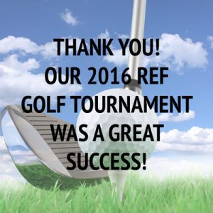 Rockland Education Foundation Golf Tournament Success Message
