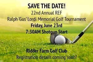 Save the date REF Annual Golf Tournament