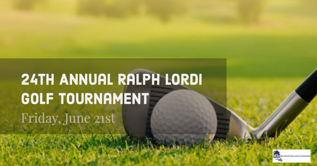 Rockland Education Foundation Golf Tournament July 21st