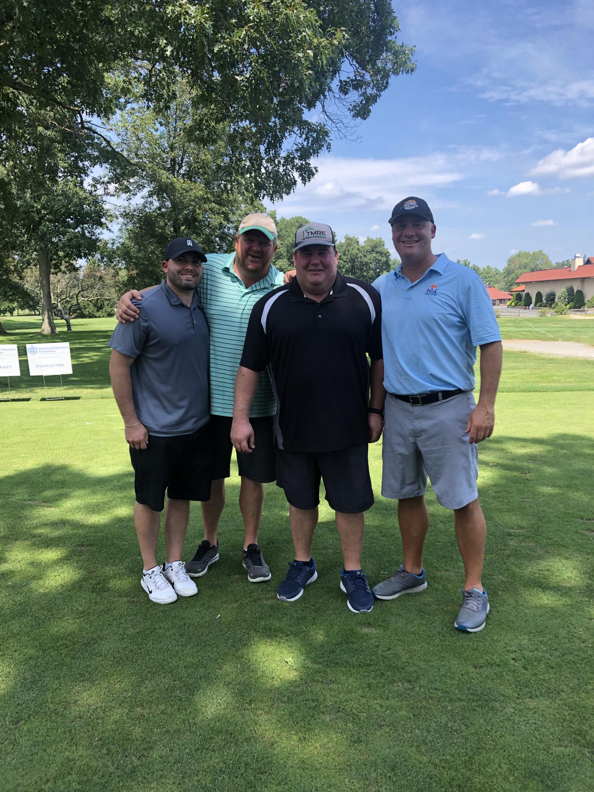 Rockland Education Foundation Golf Tournament Golfers